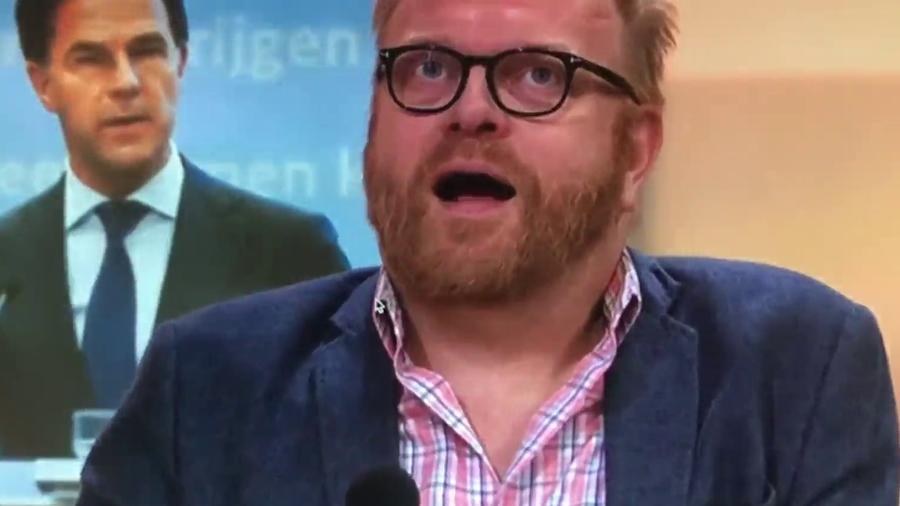 NieuwNieuws: Frits Huffnagel '(slaap)dronken' op tv, fragment stilletjes  verwijderd - VIDEO