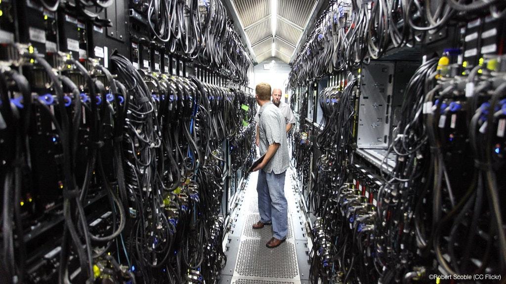 Een Microsoft datacenter in 2010